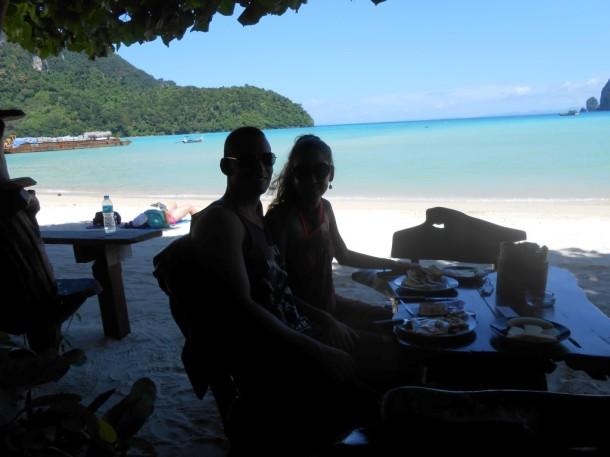 15 koh phi phi strand eten