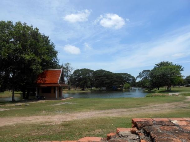 7 ayutthaya landschap