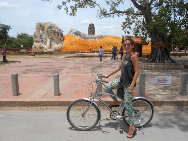 9 ayutthaya liggende boeddha