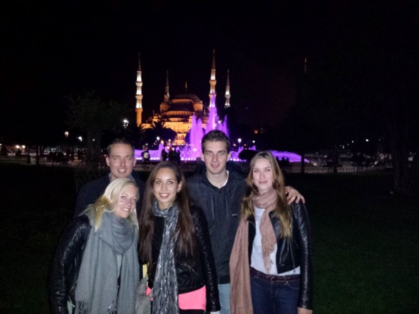 12 blauwe moskee istanbul