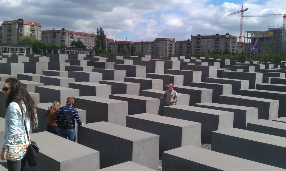 1 Memorial to the Murdered Jews of Europe