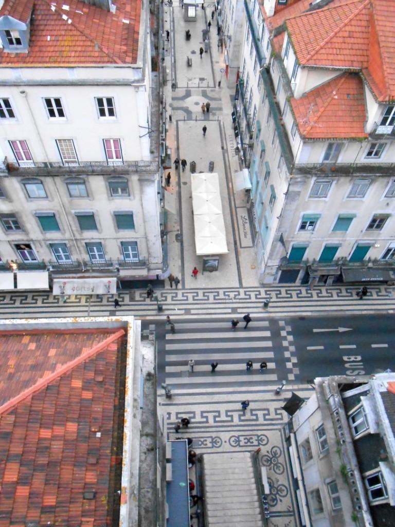 5 Santa Justa Lift view