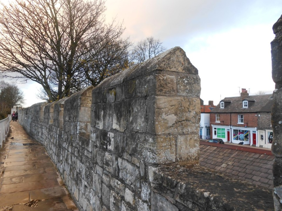 17 york city wall